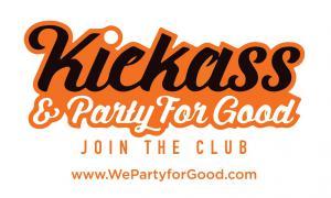 #landsweetjob #kickass #partyforgood www.WePartyforGood.com