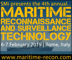 SMi's 4th annual Maritime Reconnaissance  and Surveillance Technology conference 2019