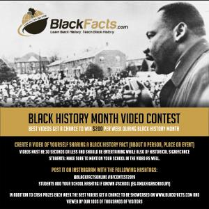 Black History Instagram Contest Rules
