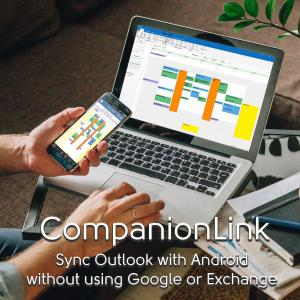 CompanionLink and DejaOffice synchronizes Outlook Color Categories to Android and iPhone