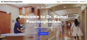 Website of Dr Kamal Pourmoghadam, Orlando, Florida