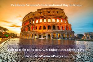 Enjoy Cake + Meet Like-Minded Women + See the World for Good