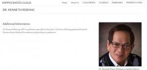 Dr Kenneth Rebong Profile on Hippocratesguild