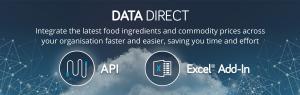 integrate food commodity API price data