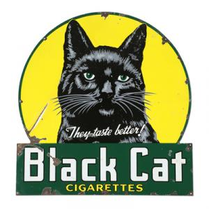 Black Cat sign 2