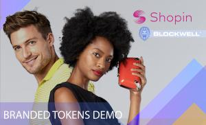 Shopin and Blockwell demo branded tokens for retailers
