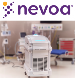 Nevoa's Nimbus+Microburst system kills pathogens in patient rooms, which lowers the risk of HAIs and reduces hospital costs.