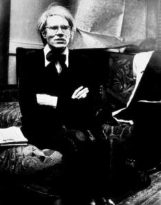 Andy Warhol at his enigmatic best.