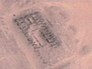 Earth battery from above; Google Earth image