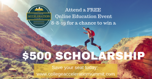 All conference attendees will be eligible to win a two-year SpeedyPrep* scholarship (a $400 value) or a $500 scholarship to the school of their choice.