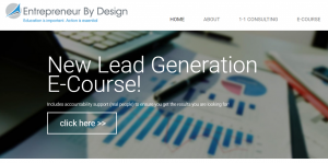 Lead Generation E-Course