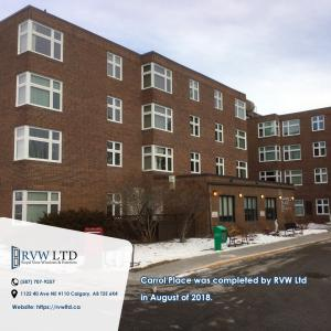 Royal View Windows and Exteriors Carrol Place Project