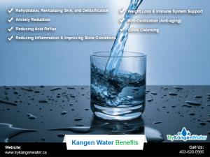 Try Kangen Water Benefits