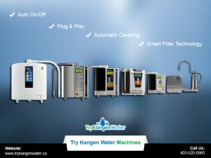 Try Kangen Water Machine Features