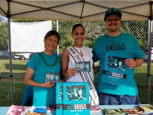 Miss DC at National Night Out