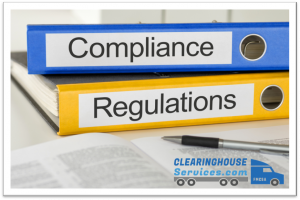 fmcsa clearinghouse services compliance