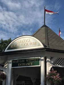 Saratoga Race Course Marylou Whitney Entrance on the eve of The Jockey Club's Round Table