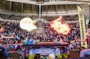 Hydrogen Fireballs
