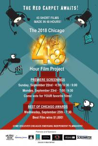 2019 Chicago 48 Hour Film Project Poster