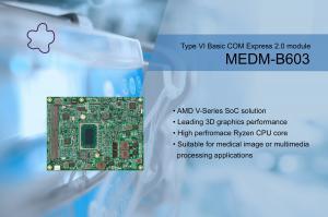 MEDM-B603-AMD Embedded V-series based on Type VI Basic COM Express