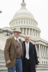 Will Harris and Marty Irby in 2018 Lobbying on Capitol Hill in Support of the Opportunities for Fairness in Farming Act