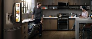 Appliances Connection 2019 Fall into Savings Event: LG Kitchen Package  with French Door Refrigerator, Dishwasher, Over-the-Range Microwave, and Double Oven Range