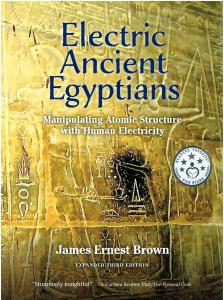 Shows the cover of Electric Ancient Egyptians